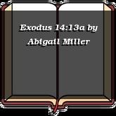 Exodus 14:13a