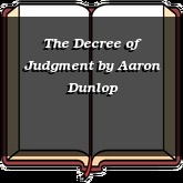 The Decree of Judgment