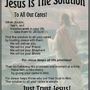 Jesus is the solution