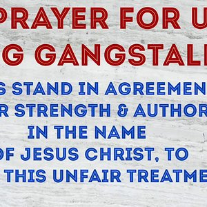 Prayer for us being Gangstalked