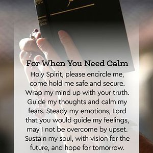 For When You Need Calm
