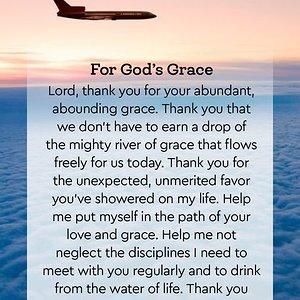 For God Grace