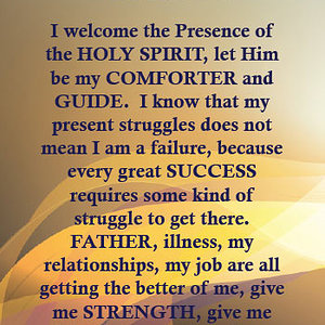 Lead And Guide By The Holy Spirit