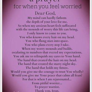 Peace & Calm Prayer