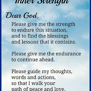 prayer strength