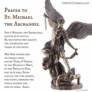 Saint Michael the Archangel Protection Prayer