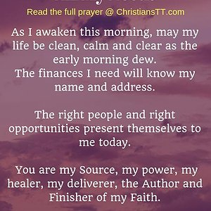 Daily-Prayer-To-Supply-All-My-Needs