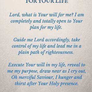 god will for my life