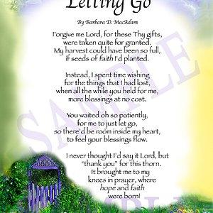Letting Go Gate For God's Blessing