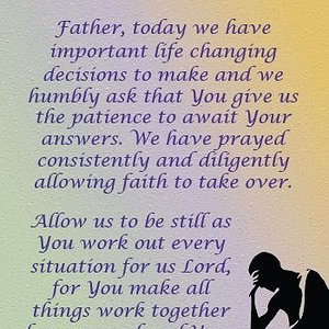 making wise decision prayer