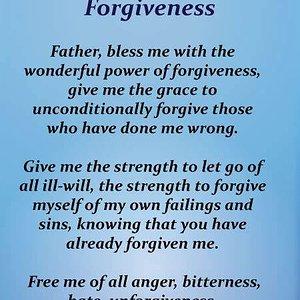 power of forgiveness prayer