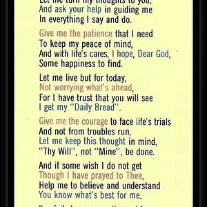 prayer for peace for today