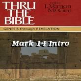 Mark 14 Intro