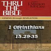 1 Corinthians 15.29-35