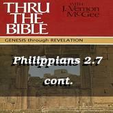 Philippians 2.7 cont.