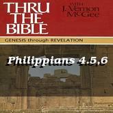 Philippians 4.5,6