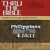 Philippians 4.10,11