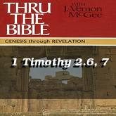 1 Timothy 2.6, 7