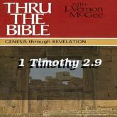1 Timothy 2.9