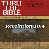 Revelation 10.4